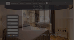 Preview of hotelportapia.it